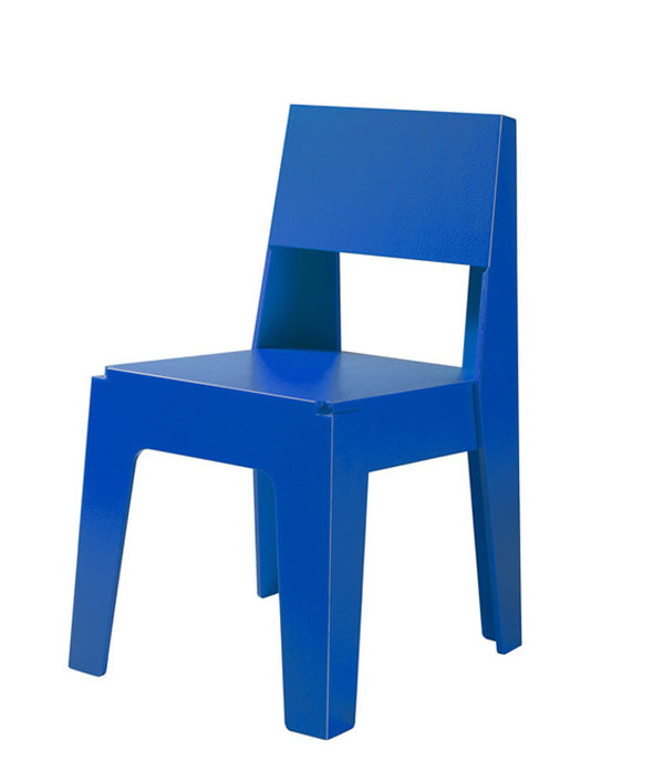 blue butter chair by designbythem