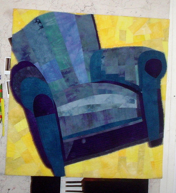 Blue Chair Quilt