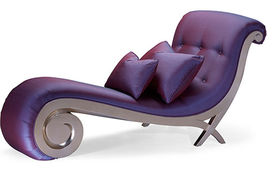 Blue Christopher Guy Lounger
