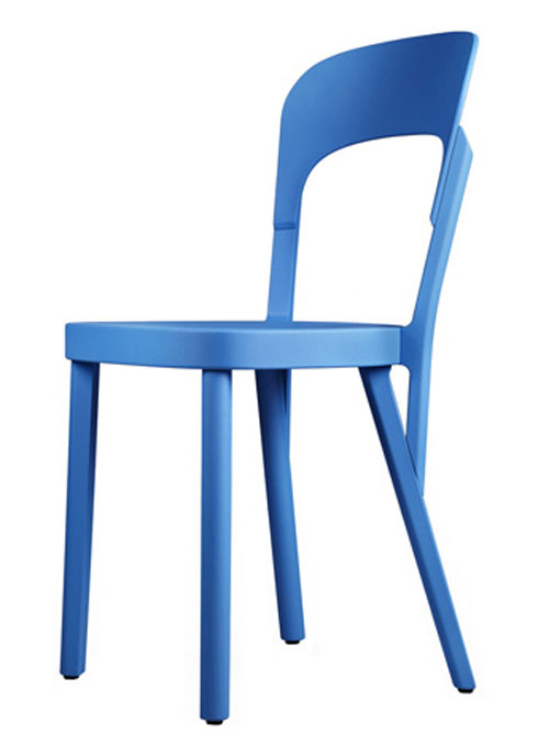 Blue Thonet no 107 by Robert Stadler