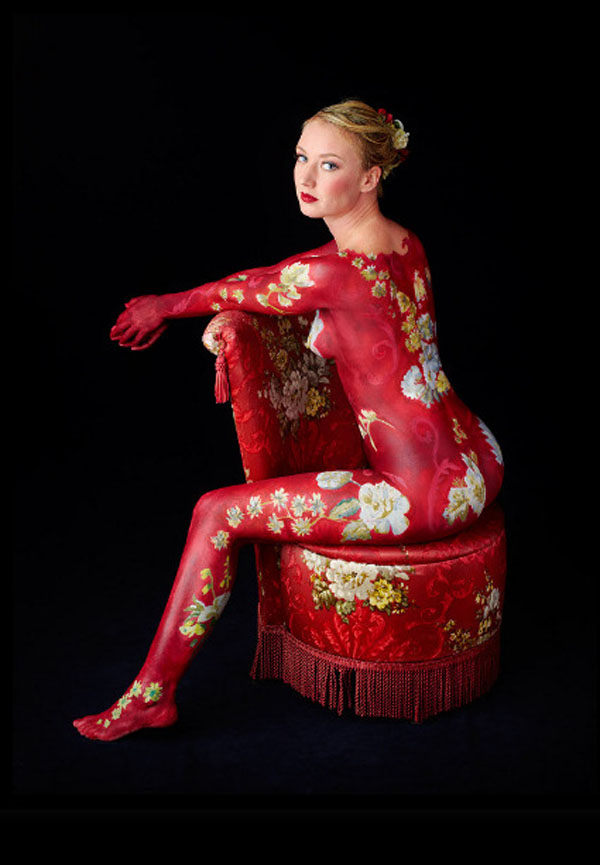 Body Art and Chairs Red