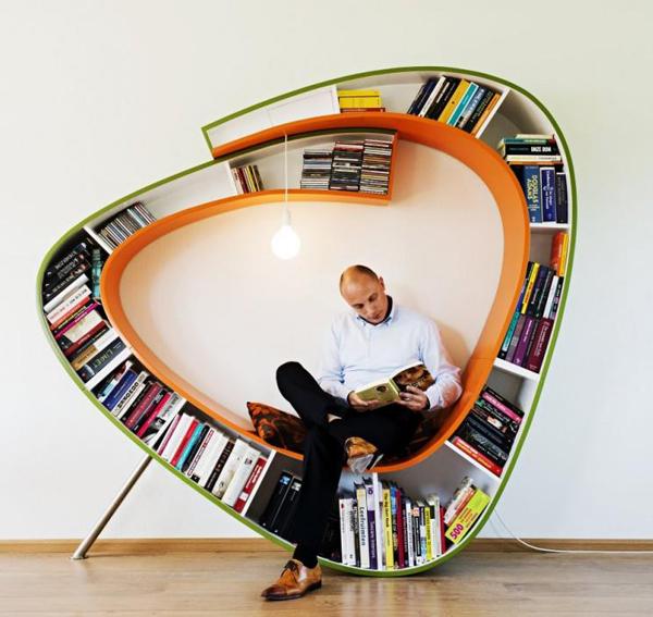 Bookworm by Atelier 010