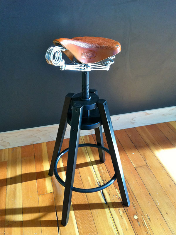 Brooks Saddle Stool
