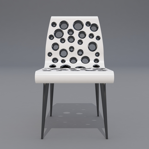 Bubble Point Chair by Svilen Gamolov Front