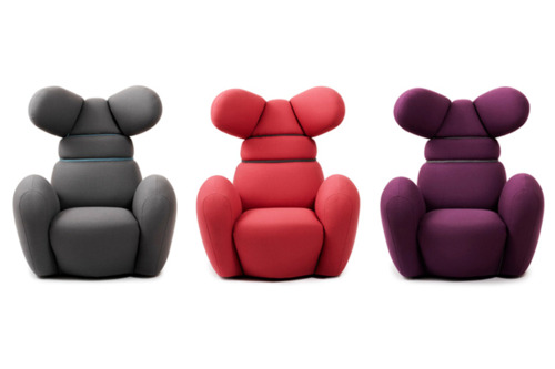 Bunnie Chairs by Iskos Berlin