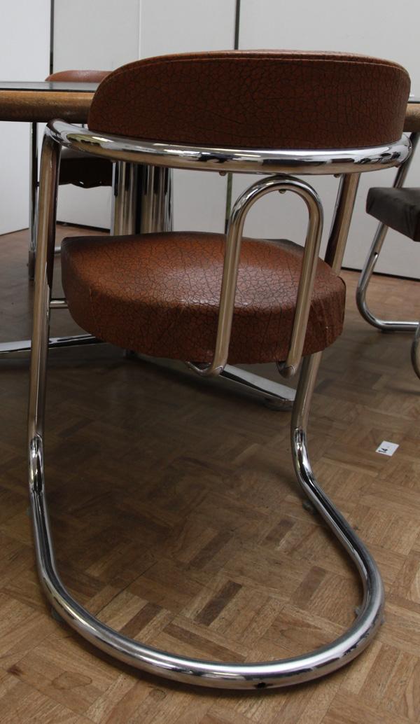 Cantilever Tubular-Mystery-Chair