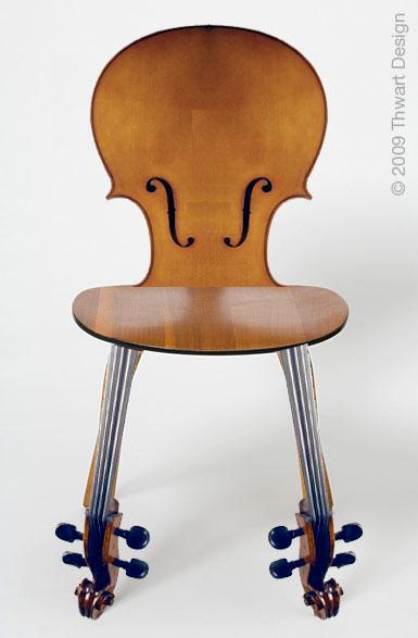 Cello Chair by Thwarth Design