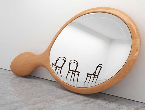chairs in a mirror by ron gilad chairblog eu