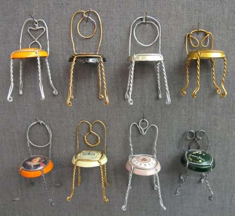 Champagne Capsule Chairs