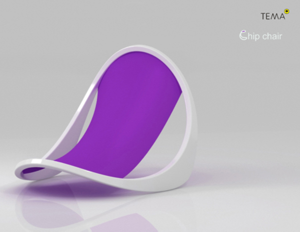 Chip Chair by Tembolat Gugkaev