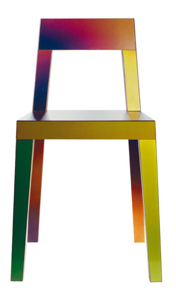Chromatic Chair by Matt Sindall Front