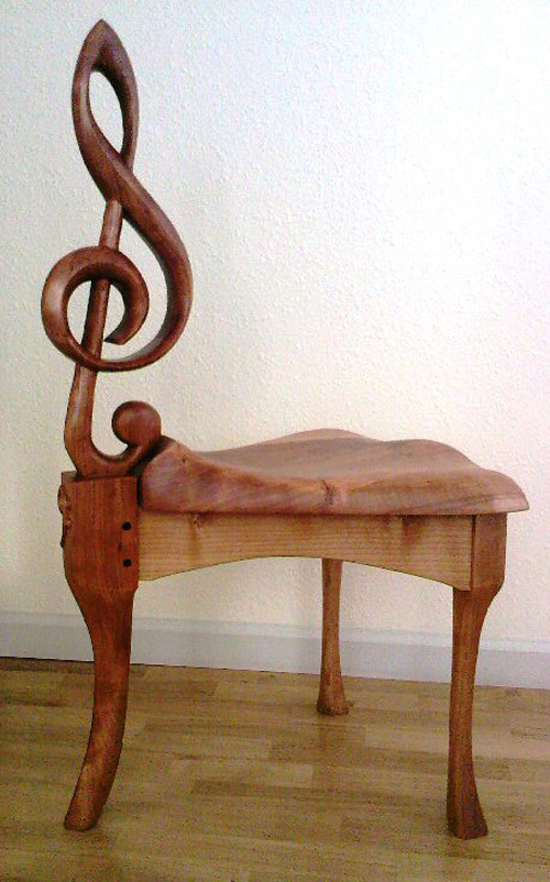 Clef-Stool / Chair Angle-TC