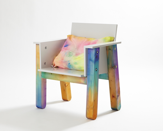 Colorful Chair by Fredrik Paulsen