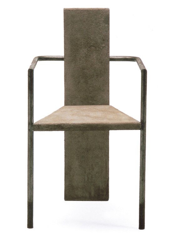 Concrete Chair by Jonas Bohlin