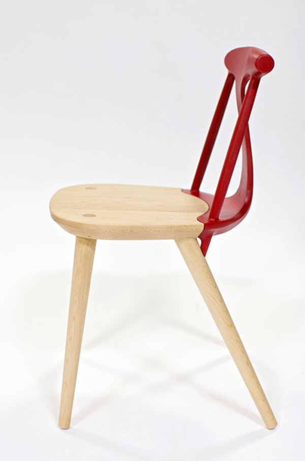 Corliss-Chair-by-Studio-Dunn-Red-Sideview