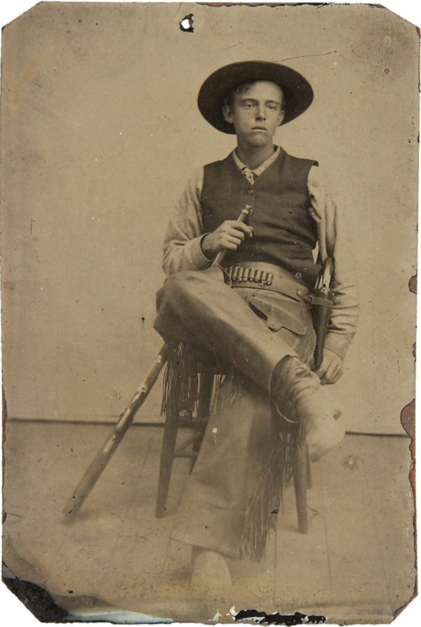 Cowboy-in-Chair