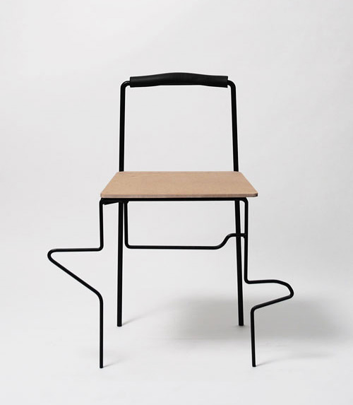 Exercise Chair by Yuan Yuan
