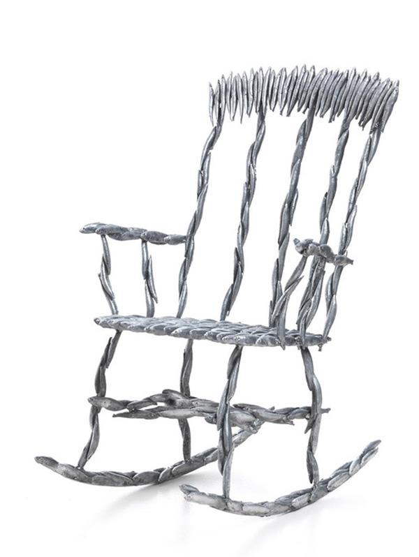 Fish Rocking Chair by Tristan Cochrane