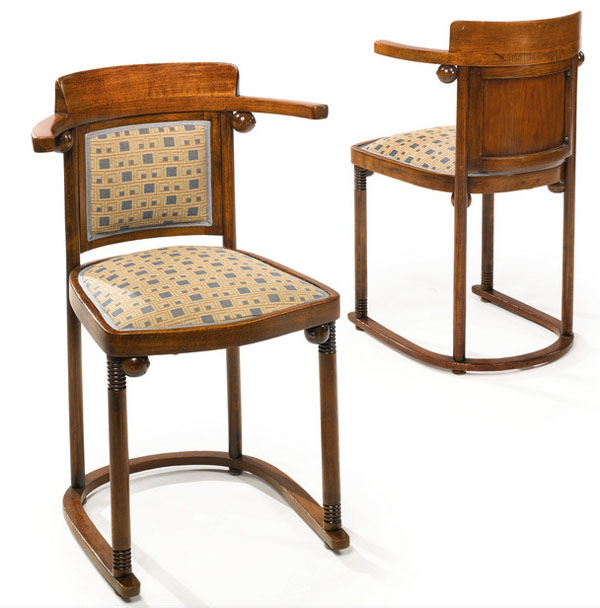 Fledermaus Chairs By Josef Hoffmann At Sothebyu0027s