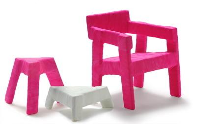 Fracture Chair by Ineke Hans