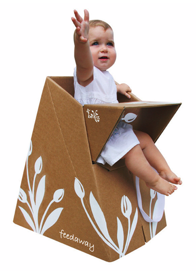 Funny Cardboard Child Chair