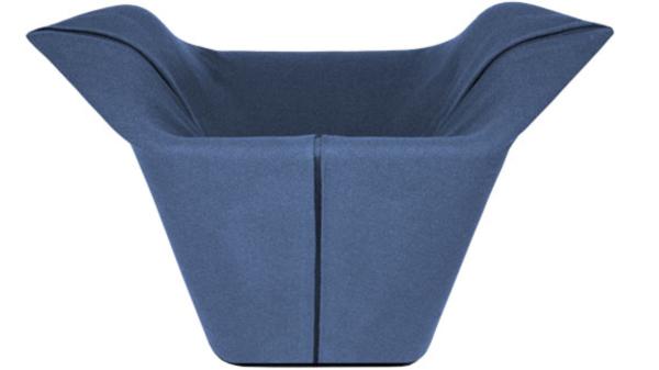 Garment Chair by Benjamin Hubert Back