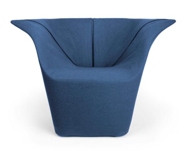 Garment Chair by Benjamin Hubert front