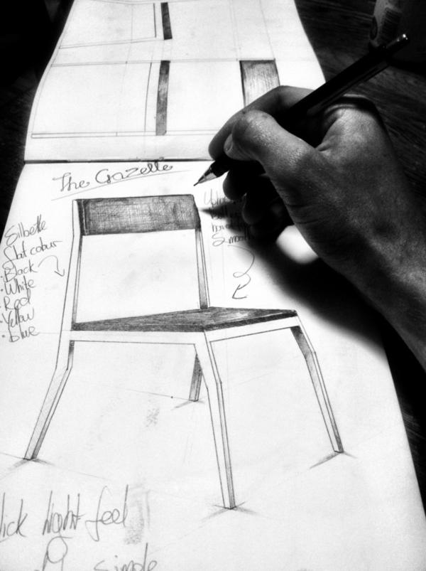 Gazelle-Chair-Sketch