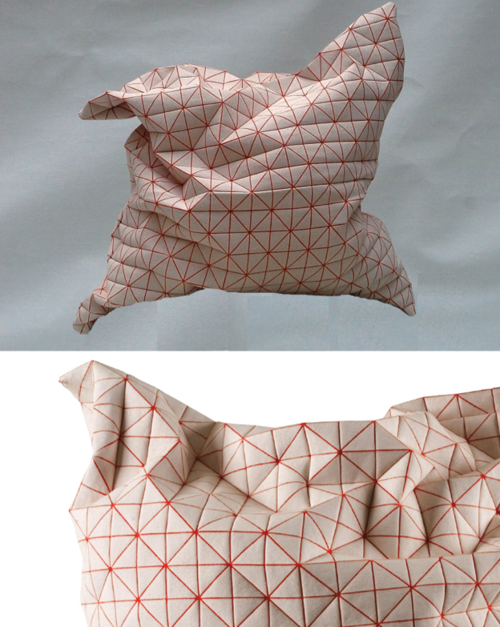 Geo Pillows by Mika Barr