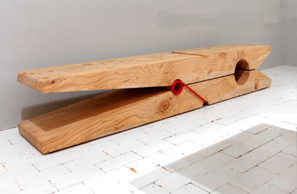 Giant-Clothespin-Bench-by-Baldessari-and-Baldessari