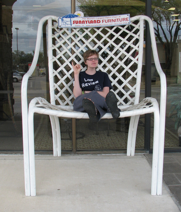 Giant Patio Chair