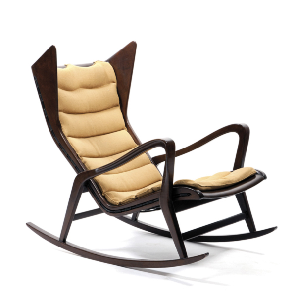 Gio Ponti Rocking Armchair