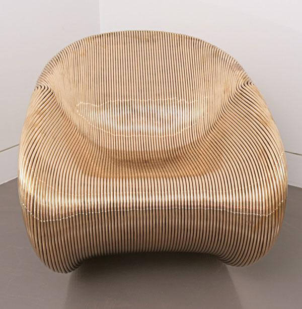 Golden Mystery Chair
