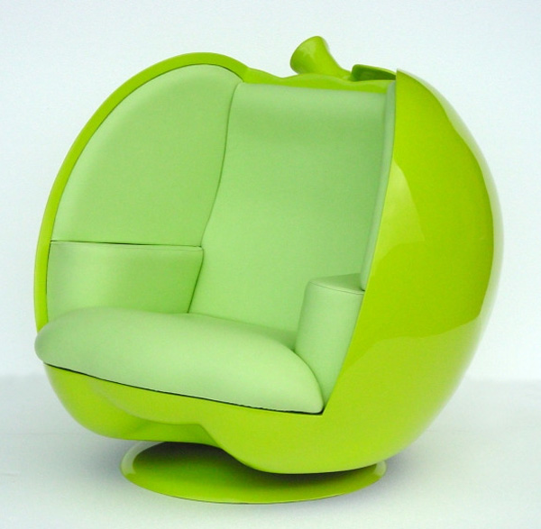 Green Apple pod chair