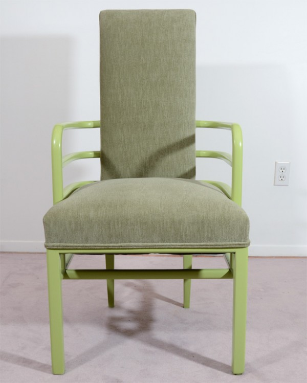 Green K.E.M. Weber Chairs front