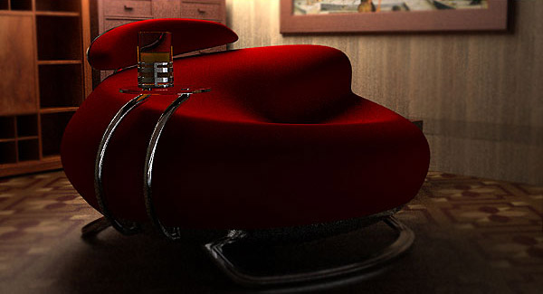 Havana Lounge Chair by Velicko Velikov