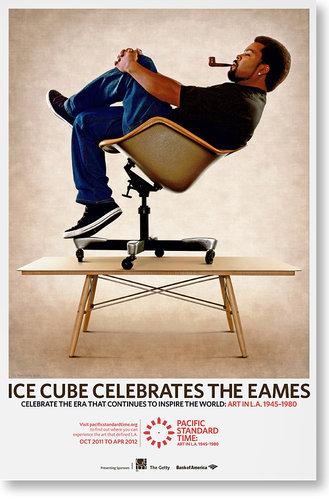 Ice Cube celebrates the Eames