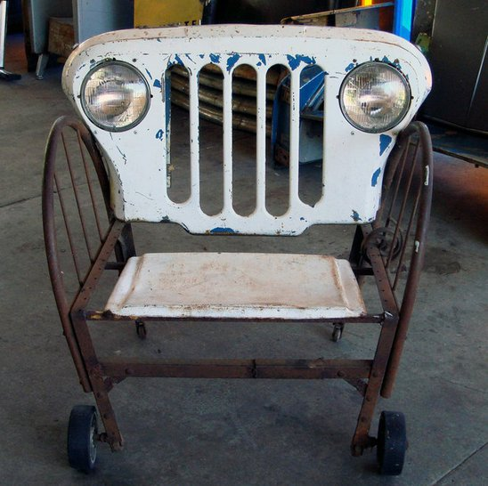 Jeep inspired Chair