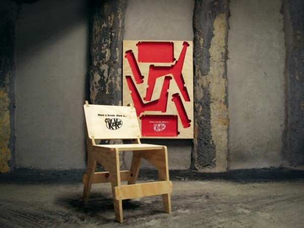 KitKat Puzzle Chair