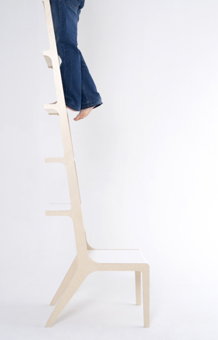 Ladder  Chair by Seung-Yong Song