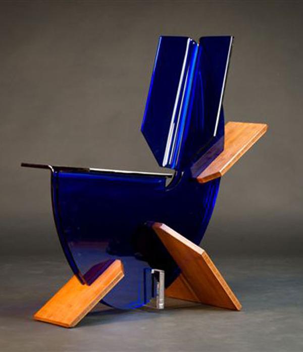 Lazuli Acrylic Chair by Behz Creations 1