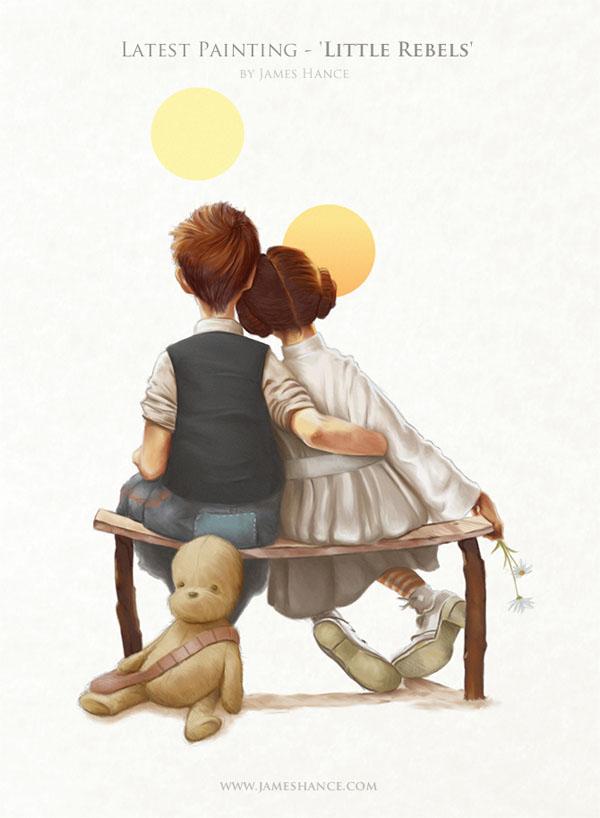 Little Rebels by James Hance