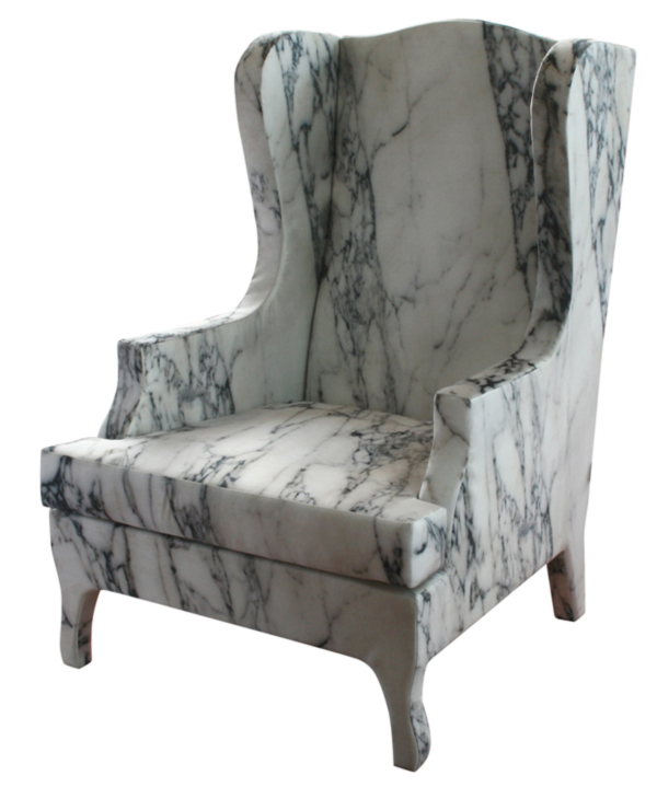 Soft Marble Armchair by Maurizio Galante Louis-XV-Goes-to-Sparta