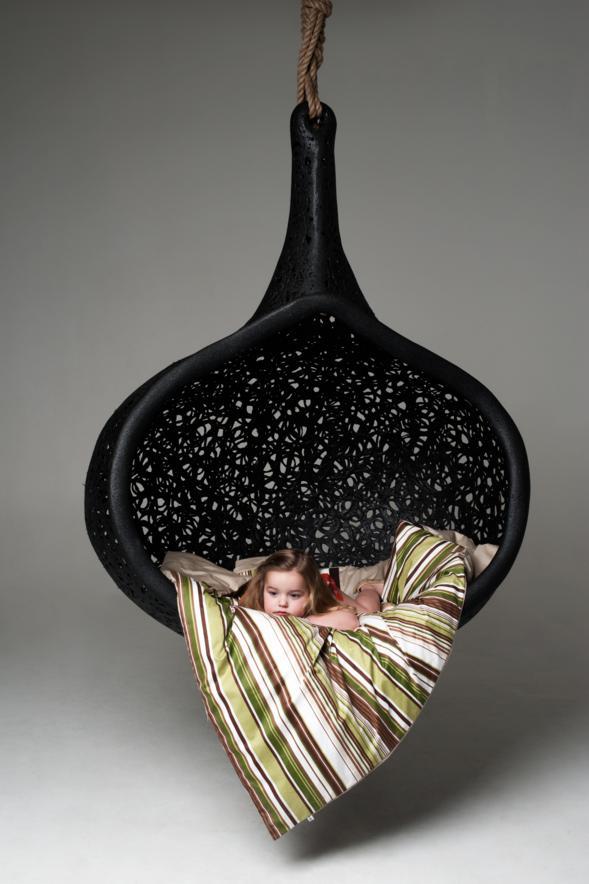 manu nest hanging chair. Black Bedroom Furniture Sets. Home Design Ideas