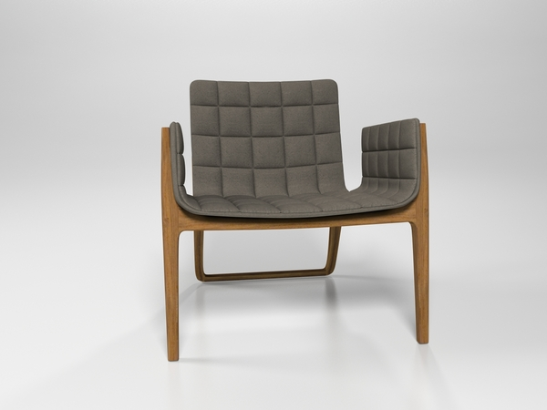 Mandarine Chair by Claudia and Harry Washington frontview