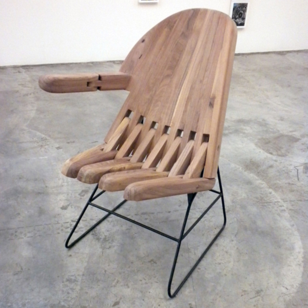 Mano Silla (=Hand Chair) by Pedro Reyes