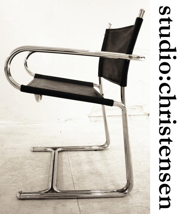 Marcel-Breuer-inspired-vintage-armchair