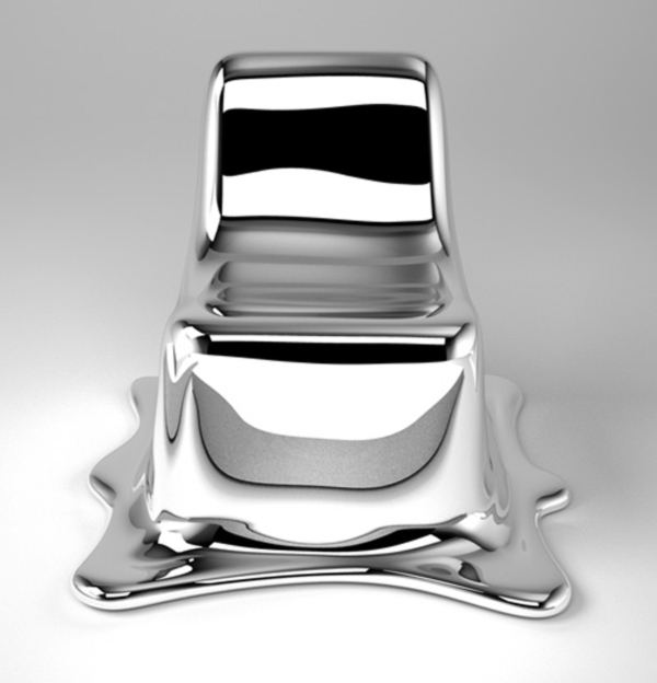 Melting Chair by Philipp Aduatz