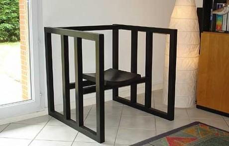 Minimalist Chair by Fredric Rhodes