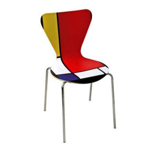 Mondrian Inspired 7 Series by Arne Jacobsen